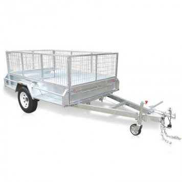 Premium Heavy Duty Range ATM 1400kg 8 x 5 Caged Trailer